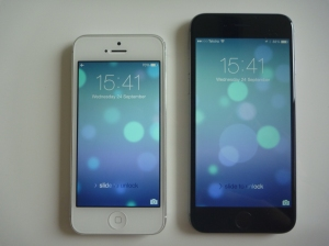 iPhone 5 vs iPhone 6