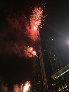 Fireworks from Eureka, NYE 2014