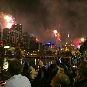 NYE 2014 Southbank, Melbourne
