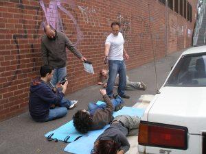 Shooting Scene from Samaritan